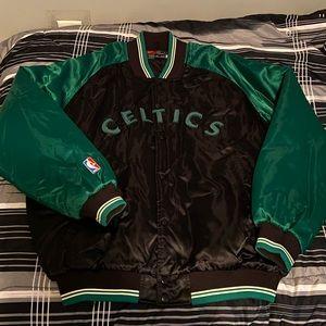 Vintage Celtics bomber jacket